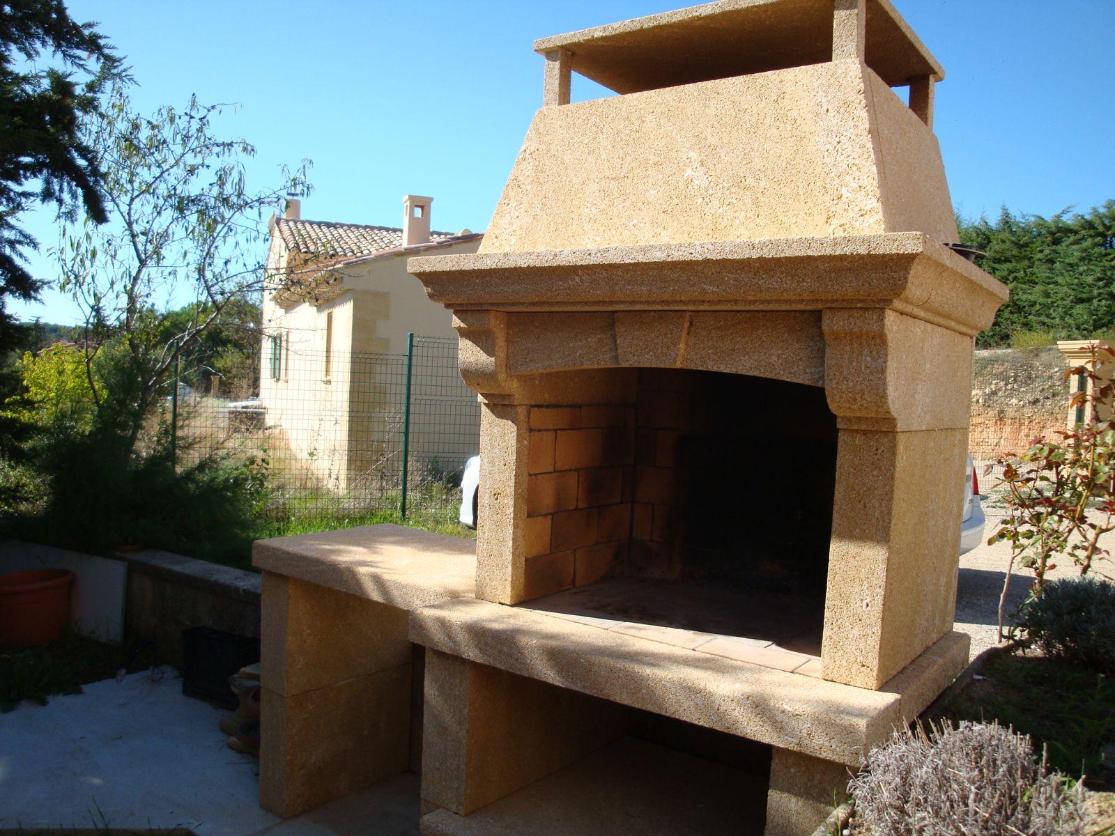 Barbecue En Pierre De Parement barbecue en pierre du gard à aix en provence - tailleur de