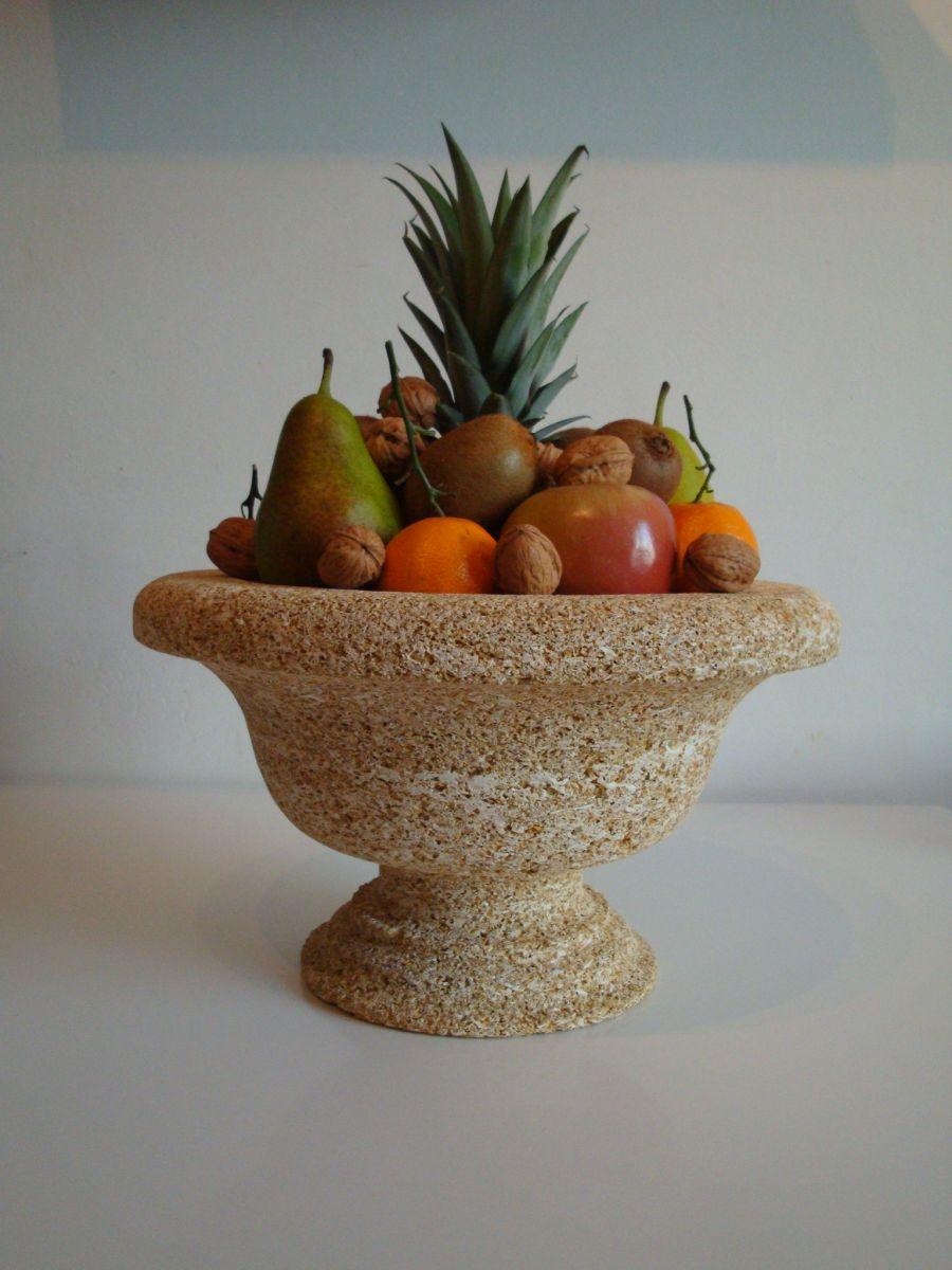 coupe fruits en pierre naturelle rognes tailleur de. Black Bedroom Furniture Sets. Home Design Ideas