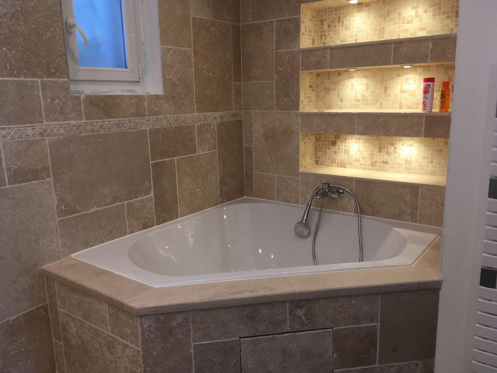 Salle De Bain Travertin Ivoire ~ salle de bains travertin salle de bains travertin with salle de